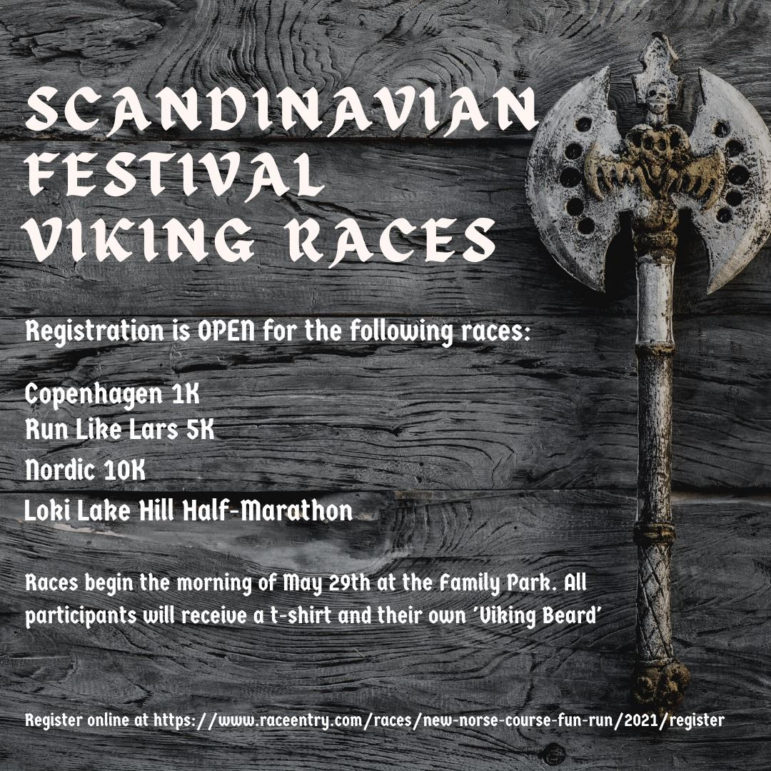 Scandinavian Fun Run information